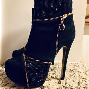 Bebe zipper booties
